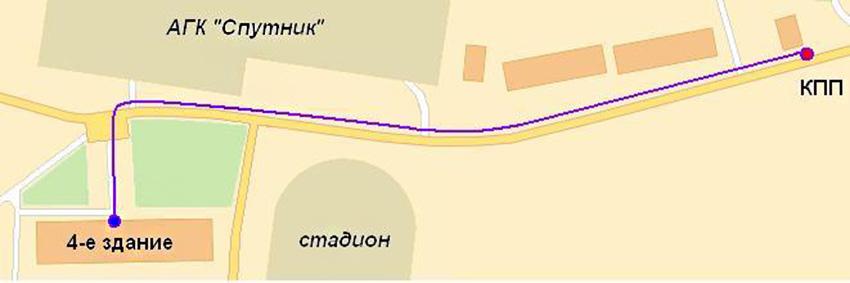 3-й окружной военный суд Московской области - Проезд